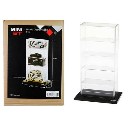 5 Car Acrylic Display Show Case Small Mini GT for 1/64
