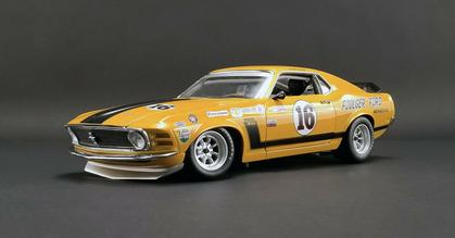 Ford Mustang Boss 302 1970 Foulger #16 (January 27)