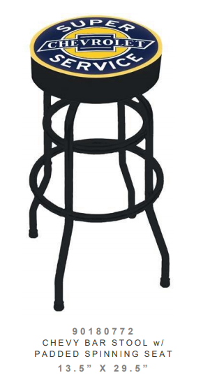 Chevrolet bar Stool