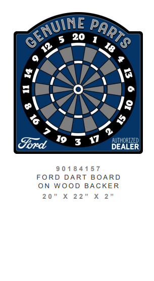 Ford Dart Board