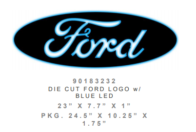 Ford Lighted Wall Art