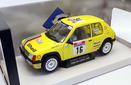 Peugeot 205 #16 Rallye Tour De Corse