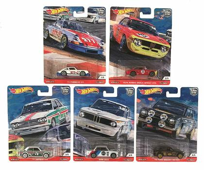 Hot Wheels 2019 Car Culture Door Slammers 1/64 Set