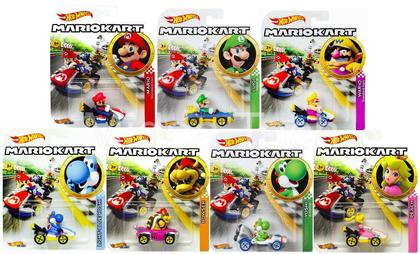 Hot Wheels 2019 Nintendo Super Mario Kart Case