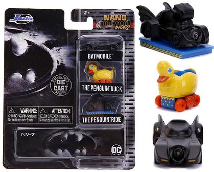 Batman Batmobile Penguin Duck & Ride Hollywood Rides NANO 1.65