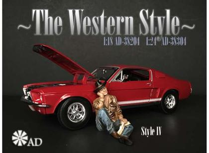 The Western Style IV Figure