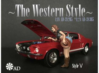 The Western Style V Figure