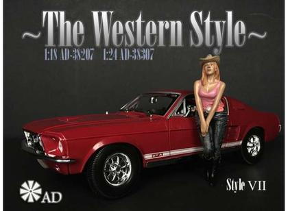 The Western Style VII Figure