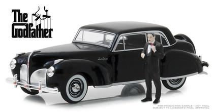 1941 Lincoln Continental with Don Corleone Figure