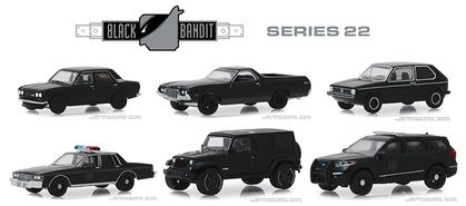 Black Bandit Series 22 1/64 Set