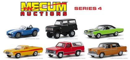 Mecum Auctions Collector Cars Series 4 1/64 Set
