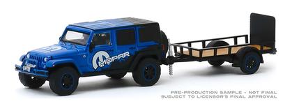 2012 Jeep Wrangler Unlimited MOPAR Off-Road Edition and Utility Trailer Hitch and Tow Series 19