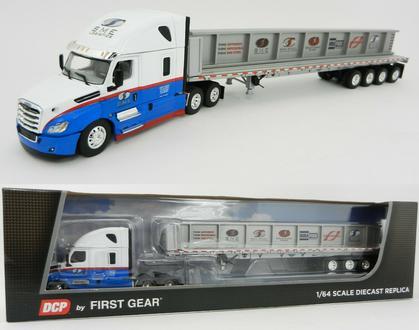 Freightliner Cascadia 53' Wilson Flatbed