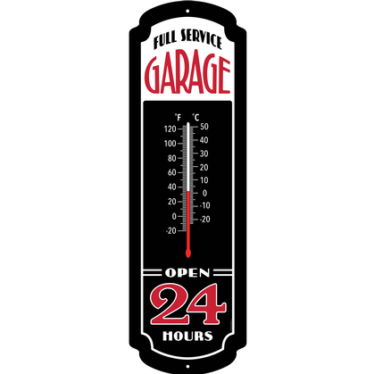 THERMOMETER Garage 24h (Glow in the dark)