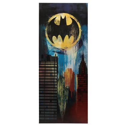 BATMAN GOTHAM CITY STRETCH CANVAS WALL DECOR
