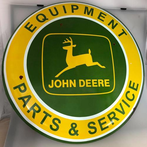 John Deere Equipment METAL SIGN