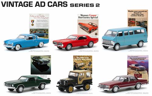 Vintage Ad Cars Series 2 Set