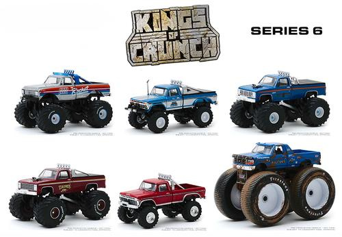 Kings of Crunch Series 6 Set
