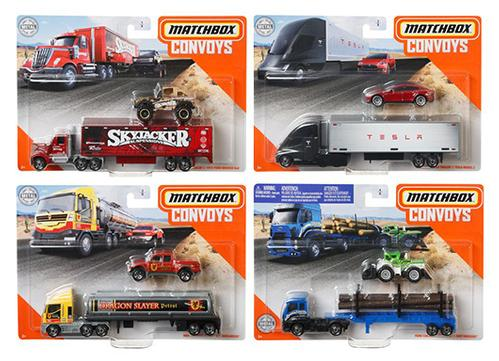 MATCHBOX CONVOYS 2020 A Set of 4