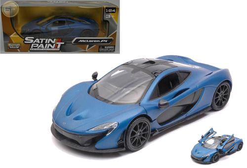 McLaren P1 Satin Blue