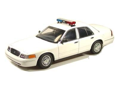 Ford Crown Victoria Plain White