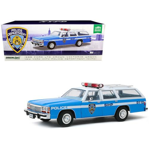 1988 Ford LTD Crown Victoria Wagon NYPD Police