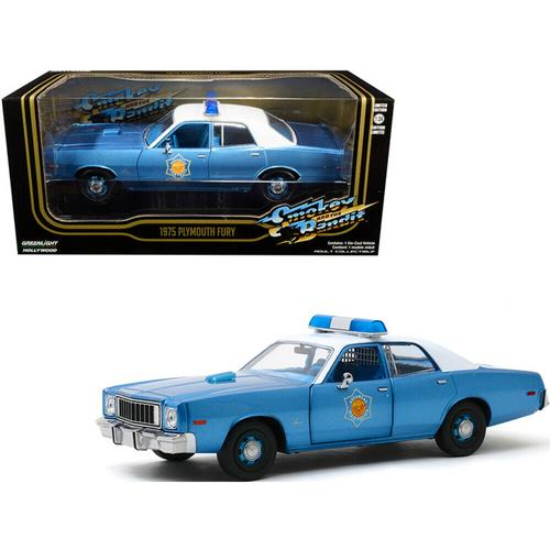 1975 Plymouth Fury Police Pursuit Arkansas State Police
