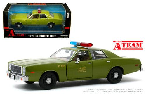 1975 PLYMOUTH FURY US ARMY POLICE THE A-TEAM