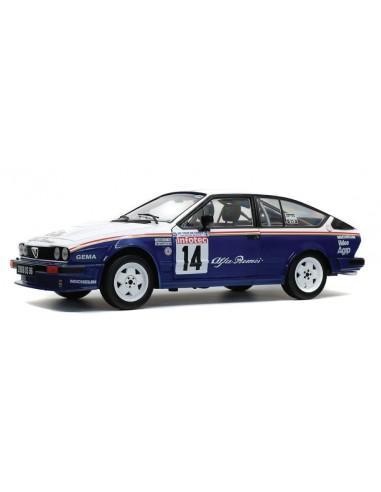 Alfa Romeo GTV6 #14 3rd Rallye Tour de Corse 1986 Loubet