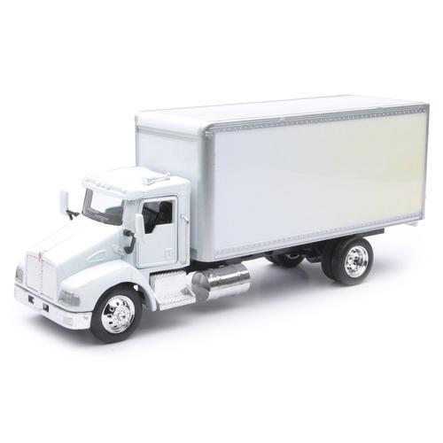 Kenworth T300 White Box Utility Truck