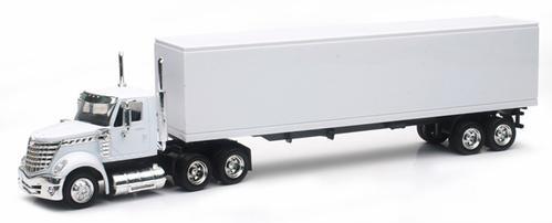 International Lonestar Long Hauler With Dry Van Trailer