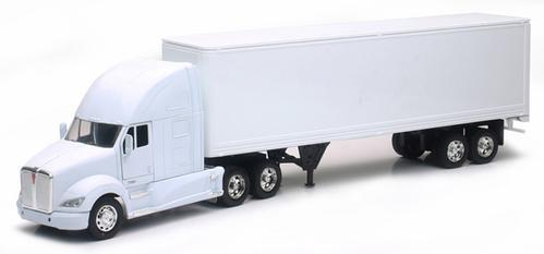 Kenworth T700 Long Hauler With Dry Van Trailer