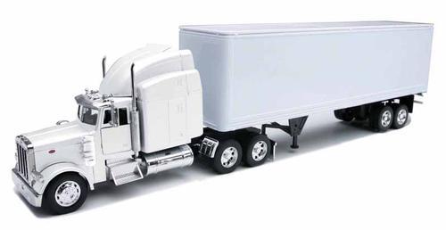 Peterbilt 379 Tractor with Dry Van Trailer
