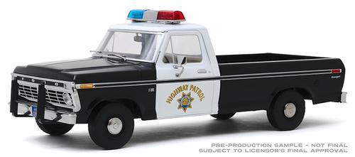 Ford F-100 1975 Police California Highway Patrol