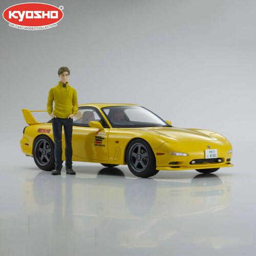 Mazda RX7 FD3S Movie Initial D With Takahashi Keisuke figure (Summer 2020)