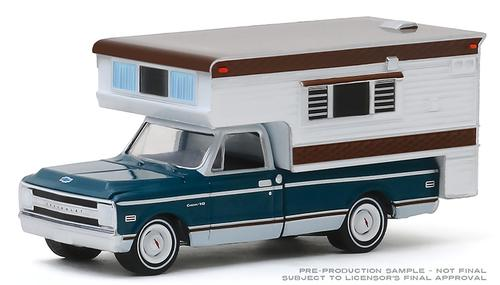 Chevrolet C10 Cheyenne 1969 with Large Camper