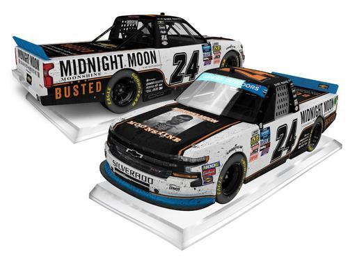 Brett Moffitt #24 2019 Chevrolet Midnight Moon Moonshine Bristol Race Win