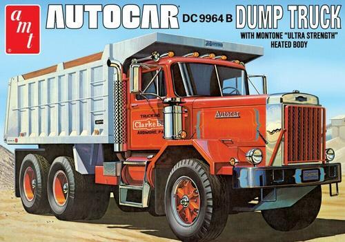 Autocar DC 9964 B Dump Truck plastic model kit 1/25
