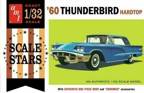 Ford Thunderbird 1960 plastic model kit 1/32