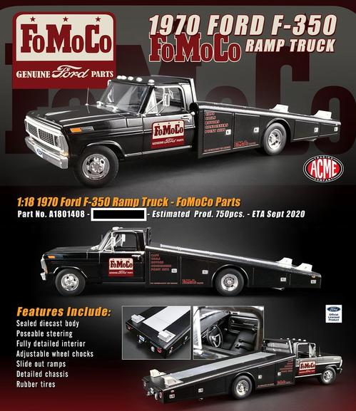 Ford F-350 1970 Ramp Truck FoMoCo Parts (Oct 23