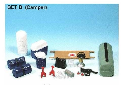 Accessory Set Camping or Search and rescue theme