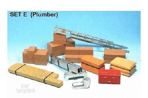 Accessory Set Plumbing/Construction theme