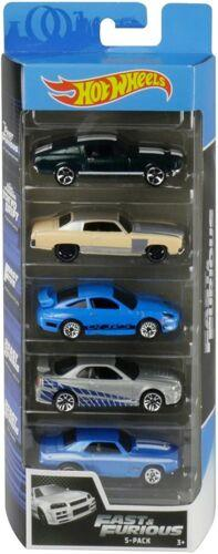 2020 Hot Wheels 1/64 Fast and Furious 5 Cars Pack 1/64