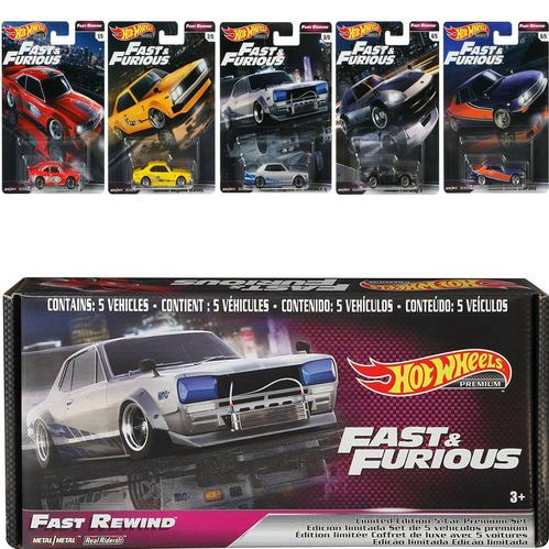 2020 Hot Wheels Fast &Furious Fast Rewind Premium Bundle 2
