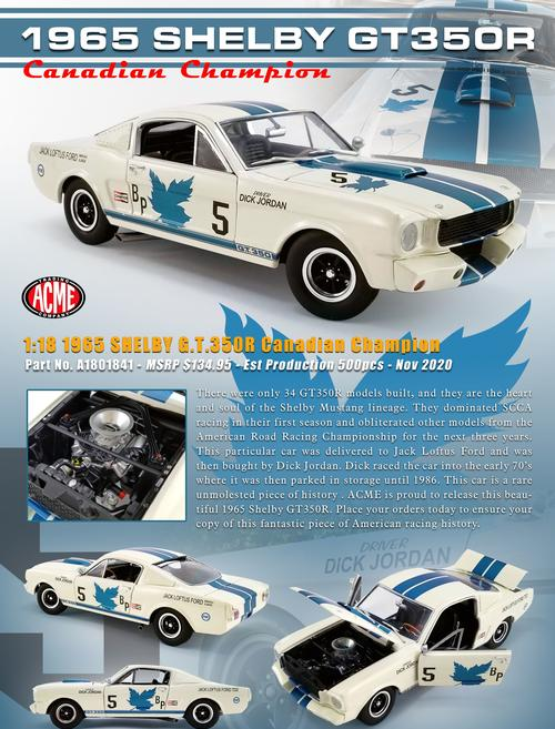 Ford Shelby GT350R 1965 #5