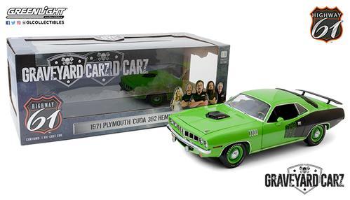 Plymouth Cuda 1971 Graveyard Carz - Custom Crate 392 Hemi - SEMA 2016