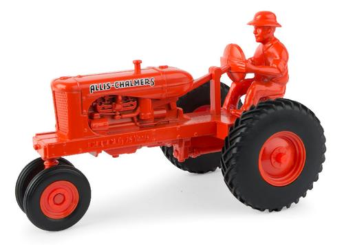 Allis-Chalmers Tractor with Man