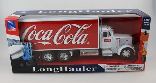 Peterbilt 379 Box Truck Coca-Cola