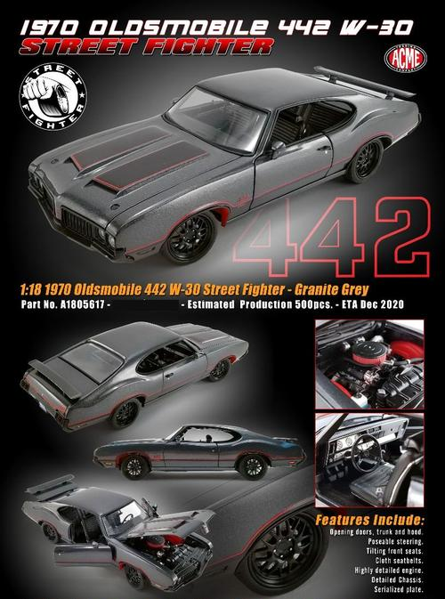 Oldsmobile 442 1970 Street Fighter (February)