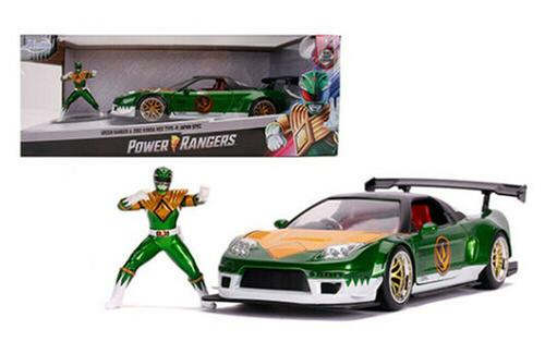 HONDA NSX TYPE-R 2002 POWER RANGERS CAR W/FIGURE MODEL